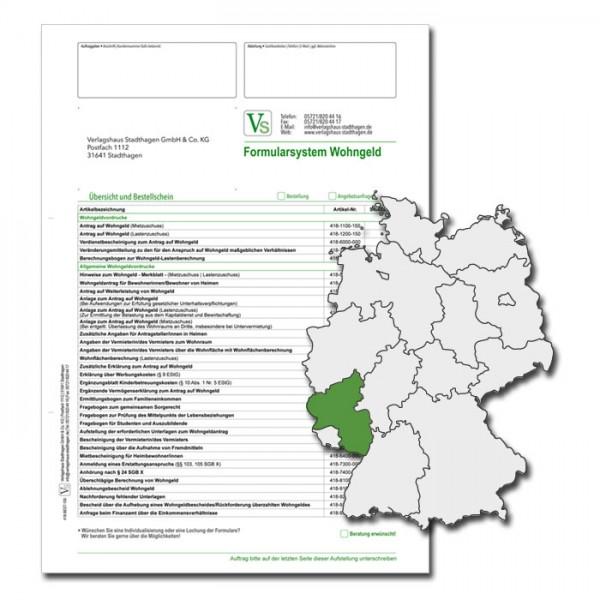 Bestellschein Wohngeld Rheinland-Pfalz