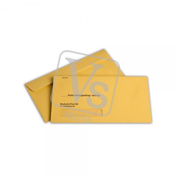 Zustellungsumschlag (äußerer Umschlag)