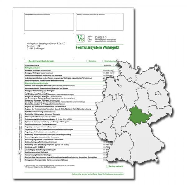 Bestellschein Wohngeld Thüringen