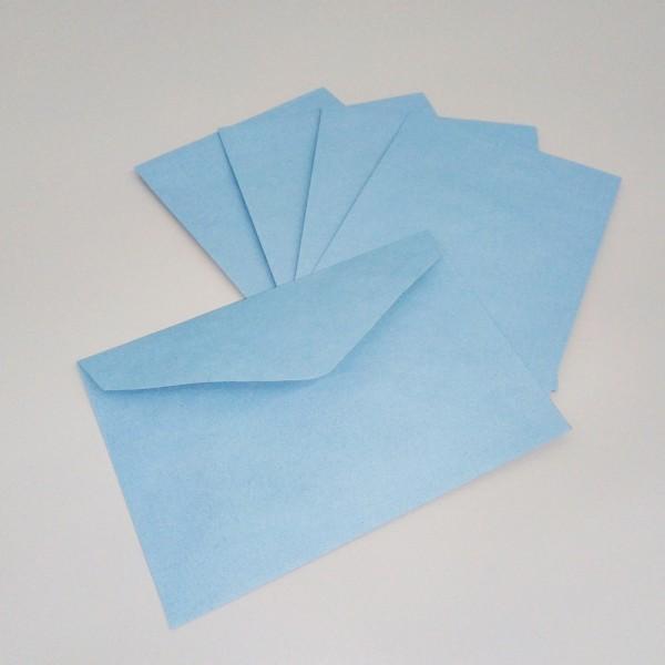 Briefumschlag DIN C6, blau