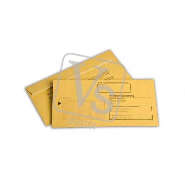 Zustellungsumschlag ZU200 innerer Umschlag (100 Stk.)