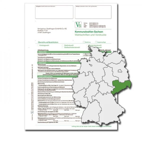 Bestellschein zu den Direktwahlen für Wahlschriften & Vordrucke