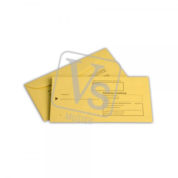 Zustellungsumschlag ZU205 innerer Umschlag (100 Stk.)