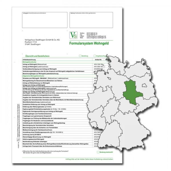 Bestellschein Wohngeld Sachsen-Anhalt