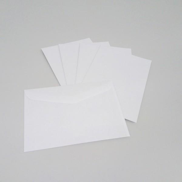 Briefumschlag DIN C6, weiß