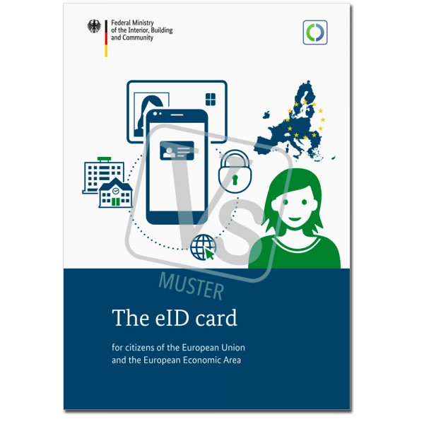 """Broschüre """"The eID card for citizens of the European Union and the European Economic Area"""""""