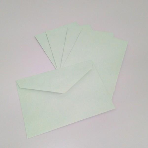 Briefumschlag DIN C6, recycling grün