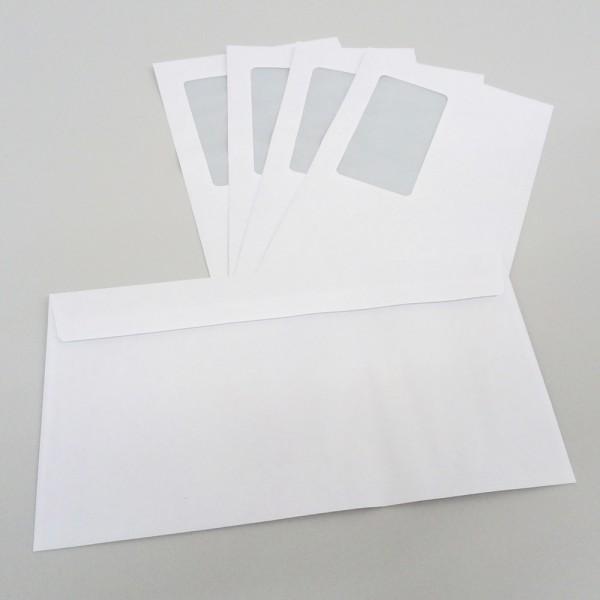 Briefhülle 125 x 235 mm, mit Fenster