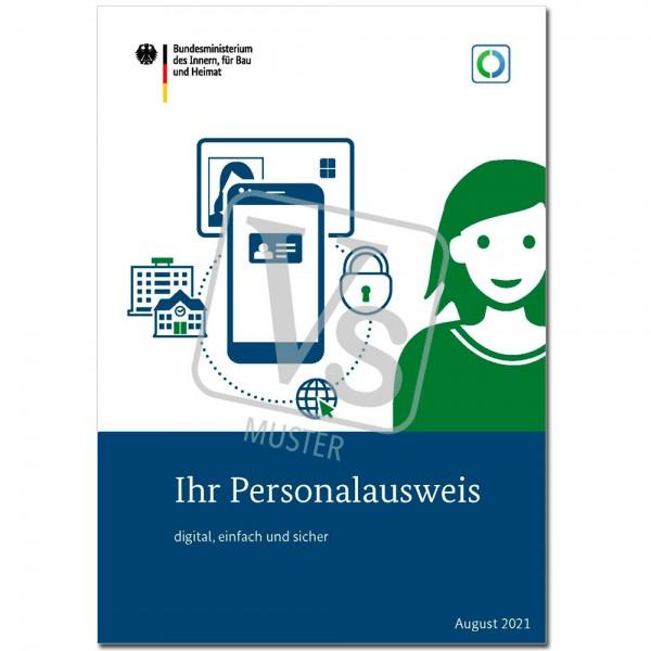 """Broschüre """"Ihr Personalausweis - digital, einfach und sicher"""""""