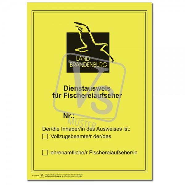 Dienstausweis Fischereiaufseher