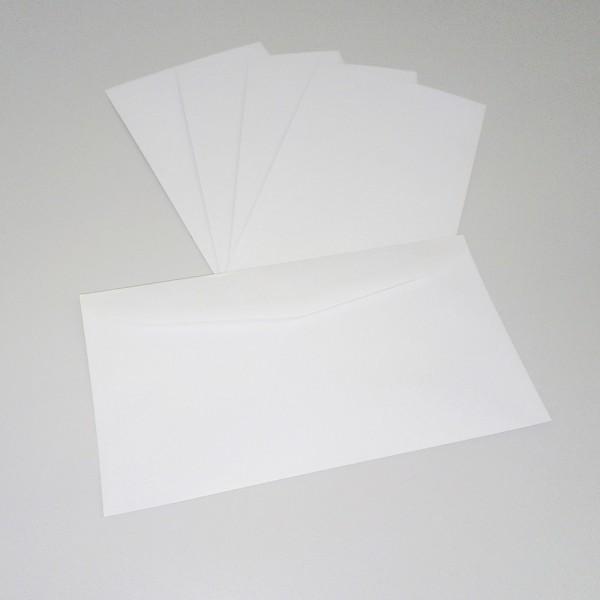 Briefumschlag 125 x 235 mm, weiß